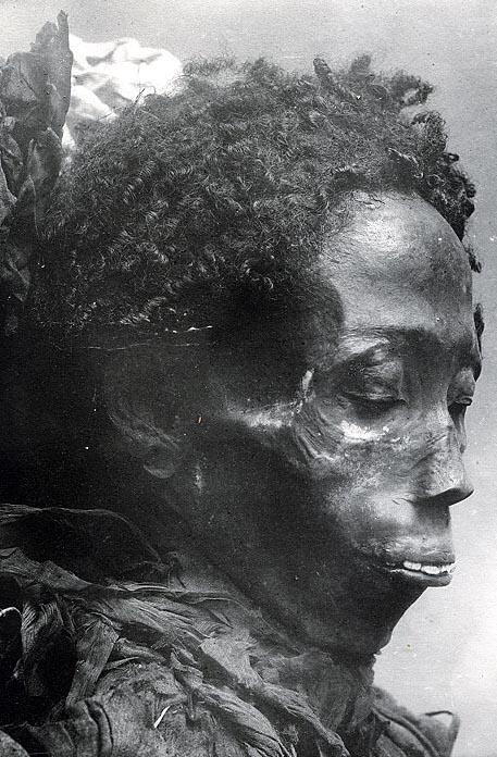 Year Old Mummy Still Has Natural Hair