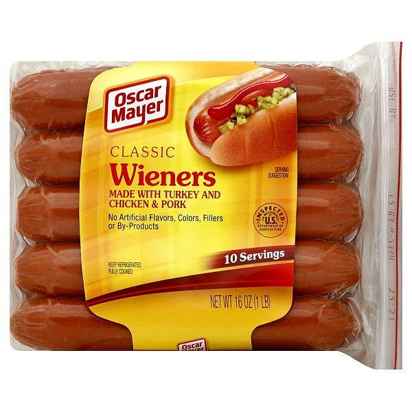Kraft Food Recalls 96000 Pounds Of Oscar Mayer Wieners on oscar mayer wiener