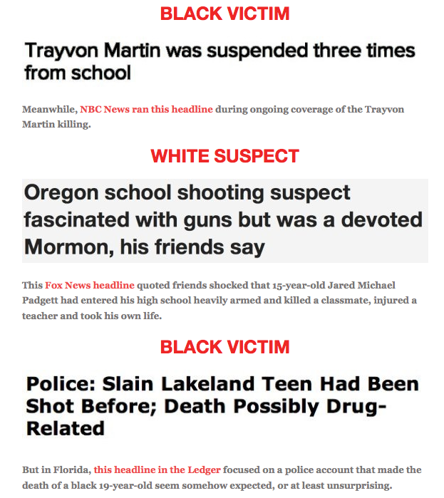 Racial bias in the media essay