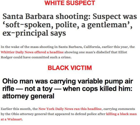 Racial bias in the media essay