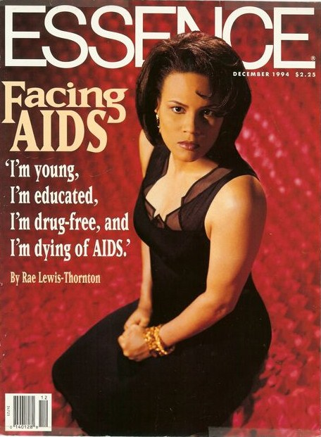 """rae lewis thornton dating Twenty years ago, rae lewis-thornton told the world she had aids on the  """" women shared that i made them rethink dating and sex because."""