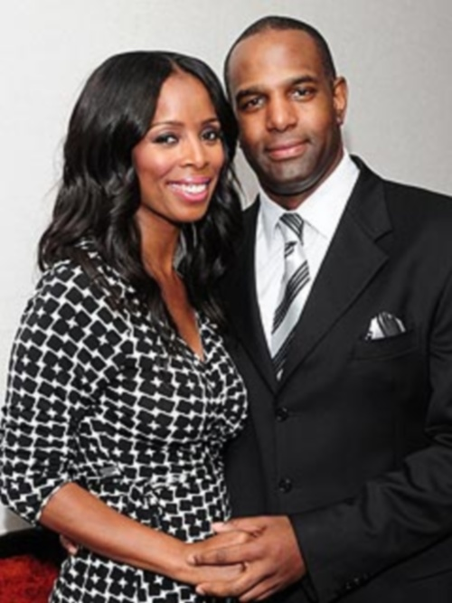 Tasha Smith and husband