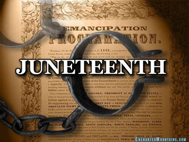 Happy Juneteenth 150 Years Ago Today Slavery Was