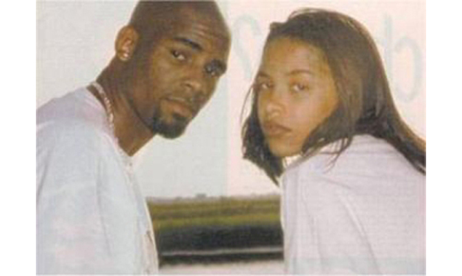 To Support Or N... R Kelly And Aaliyah