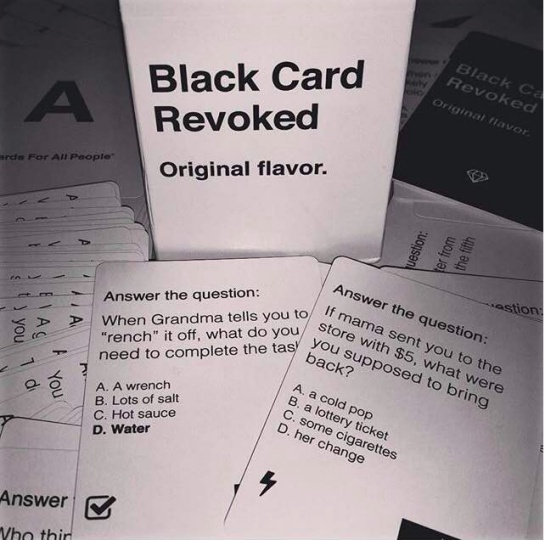 how to play black card revoked