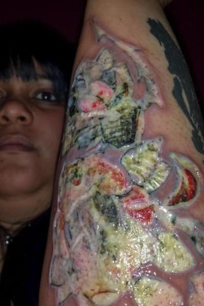 Black ink tattoo studio sued by customer who sustained for Black ink crew tattoo shop