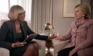 Mary J Blige and Hillary Clinton