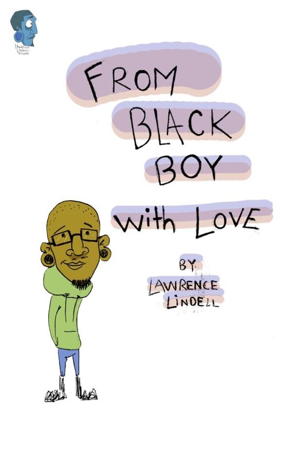 Black Boy Book Cover : Black artist lawrence lindell creates children s book
