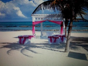 kandi Burruss- wedding tent