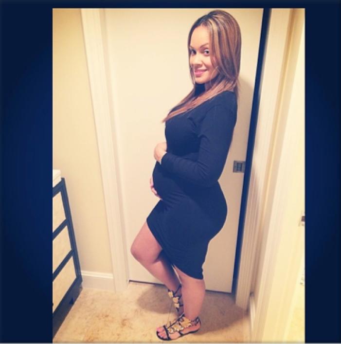 Evelyn pregnant
