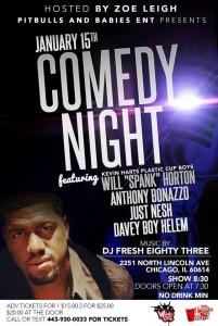 chicago comedy night