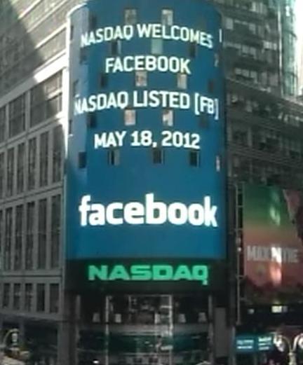 Nasdaq-Welcomes-Facebook