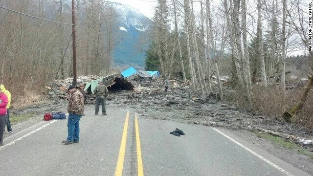 mud slide in washington