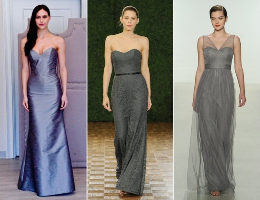 grey hue dress