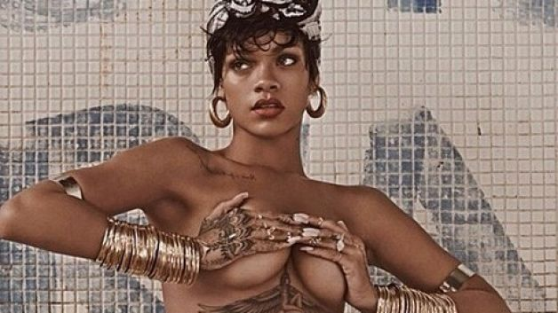 Rihanna Nearly Banned From Instagram for Showing Nipples