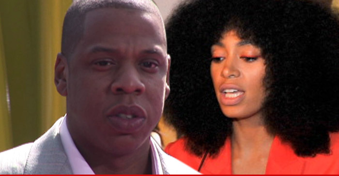 Jay Z and Solange Out Shopping For Jewelry Together