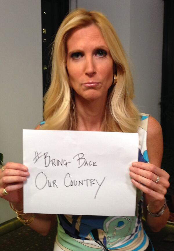 Ann Coulter's Attempt To Make Fun Of #BringBackOurGirls Goes Completely Wrong