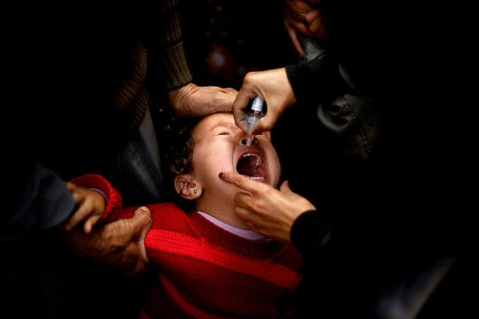 Polio Spreading worldwide