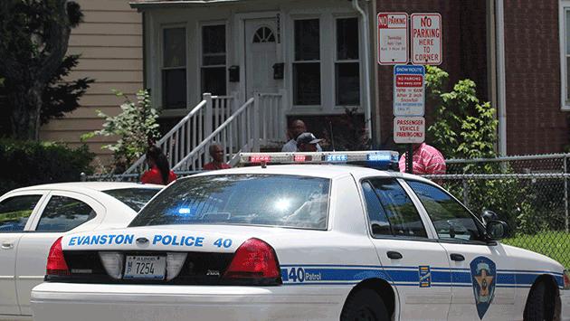 Evanston man shot on Dodge