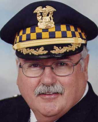 Former Chicago Police Superintendent Phil Cline