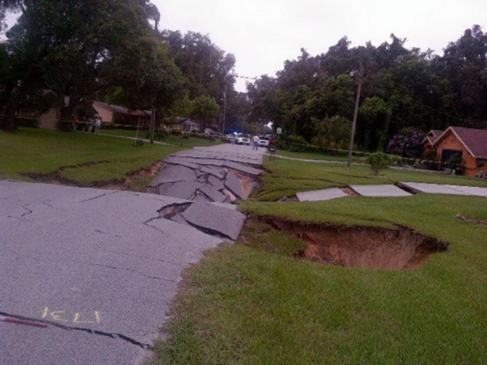 Another Day, Another Sinkhole Emerges in Florida