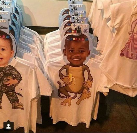 Clothing Line Controversy After Monkey's Body Is Matched With African-American Boy's Face