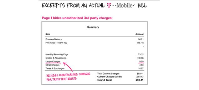t mobile bill