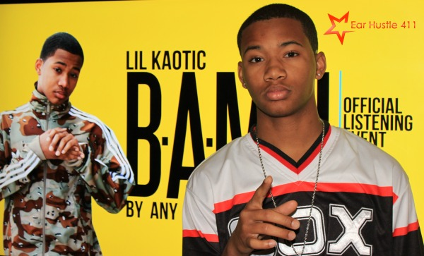 [EXCLUSIVE VIDEO]  16 Year Old Chicago Rapper Lil Kaotik Holds Private Listening Party For Upcoming CD Release