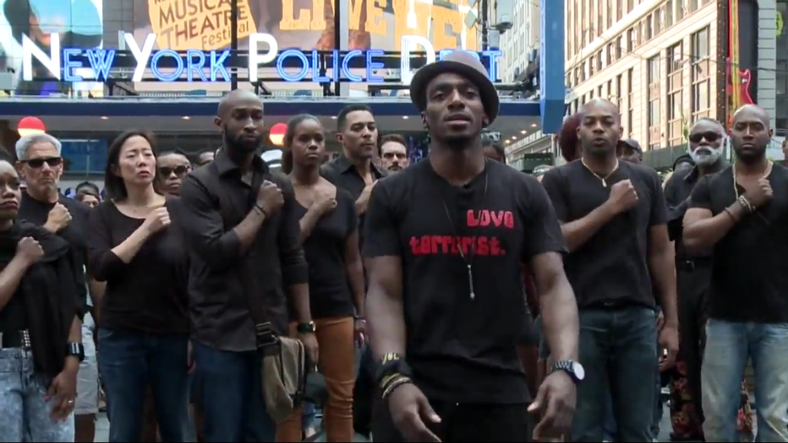 broadway speaks out about police brutality