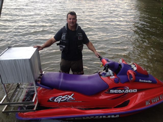 jet ski pizza delivery