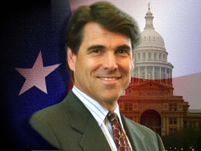 Governor Rick Perry Arrested On Abuse Of Power Charges