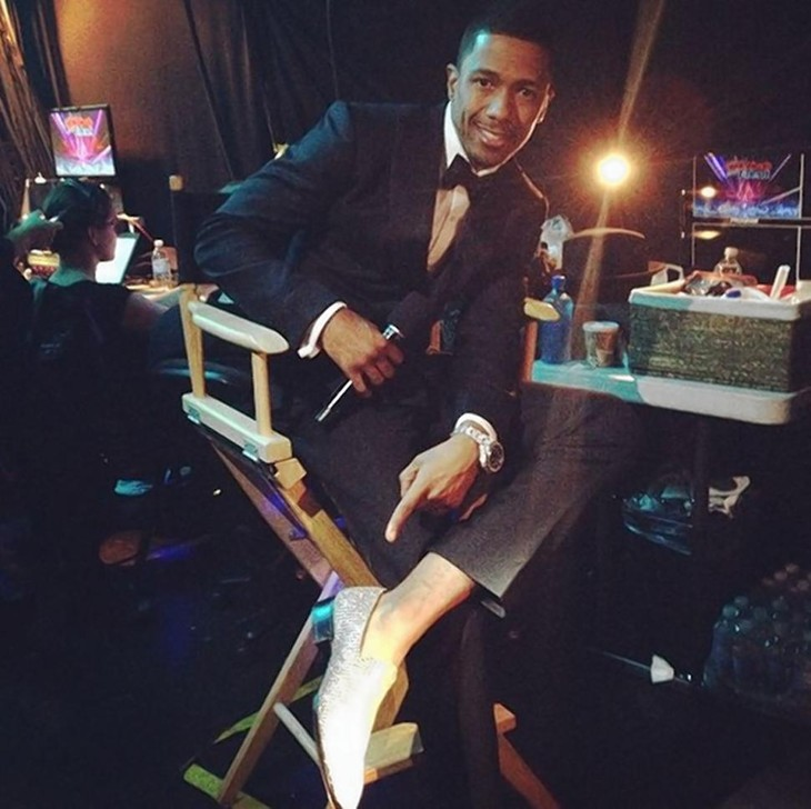 nick cannon diamond shoes