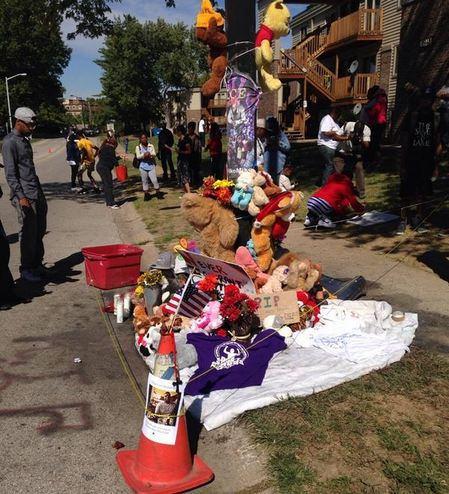 UPDATE: Mike Brown'S Memorial Burned Down In Ferguson [VIDEO]