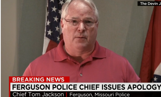 Ferguson Police Chief Tom Jackson Issues An Apology To Michael Brown's Family & To Protesters