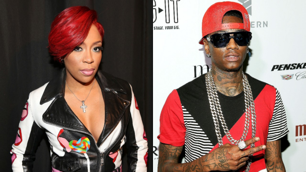 VH1 Stars K. Michelle And Soulja Boy Have A Serious Twitter Beef
