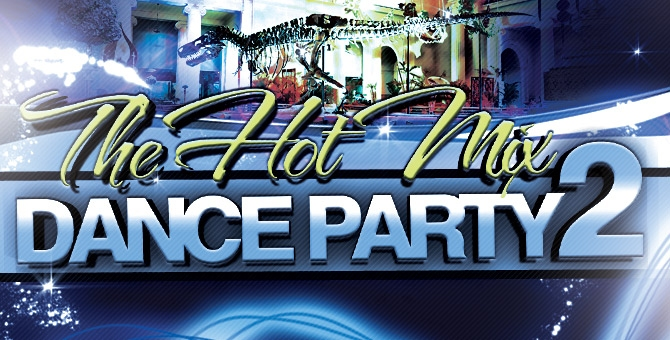 hot mix dance party flyer