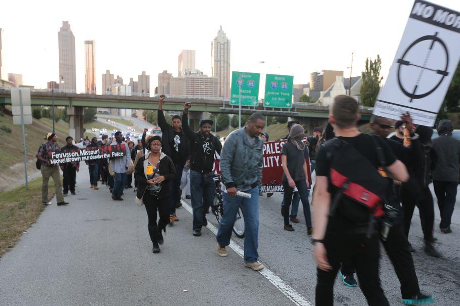 atlanta protest