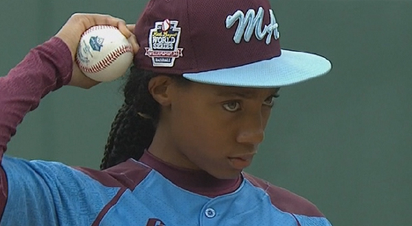Mo'ne Davis, Little League Sensation Is Number One on Time magazine's 25 Most Influential Teens of 2014 list