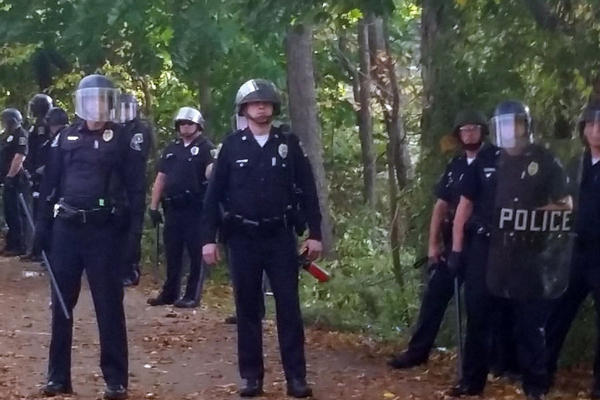 Students In Keene New Hampshire Caused Extensive Damage During A Riot At Keen Pumpkin Festival For No Apparent Reason