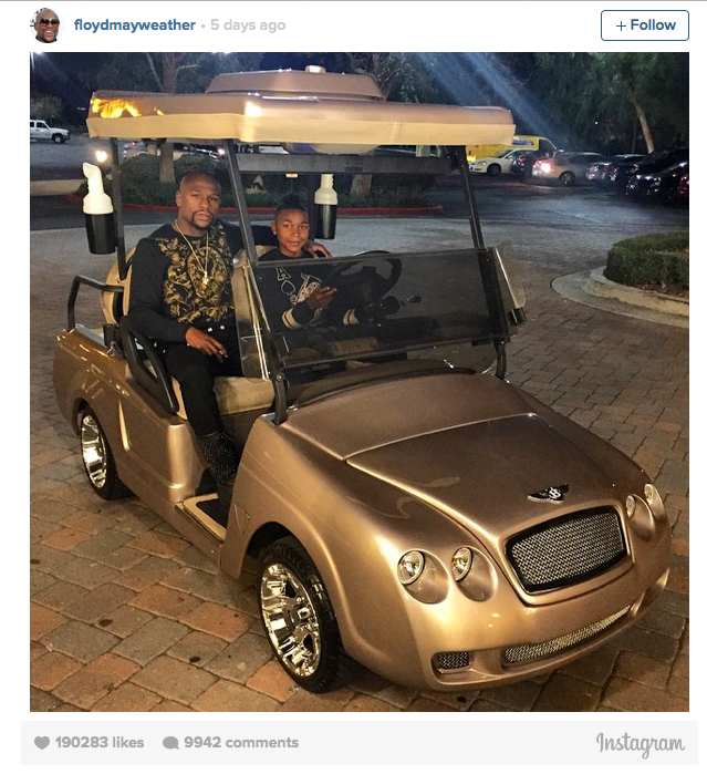 bentley golf cart