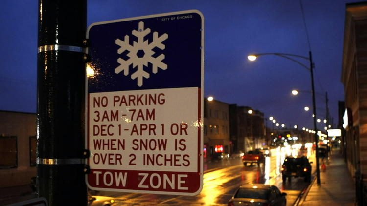chicago parking change