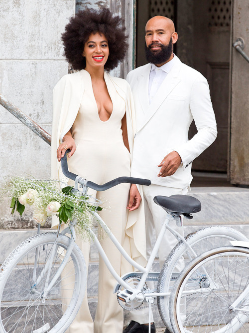 Congratulations!!! Solange Knowles Marries 51- Year Old Video Director Alan Ferguson