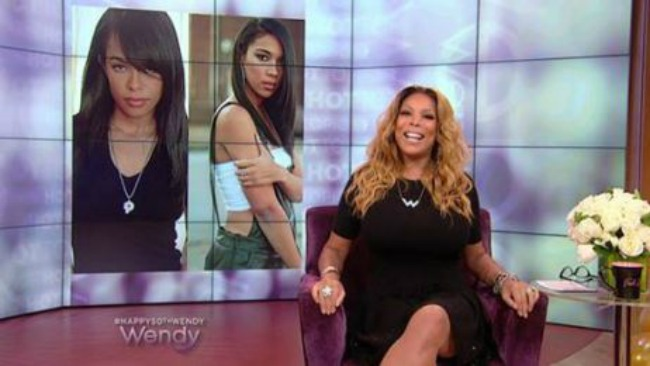 "Wendy Williams Responds To Backlash From Aaliyah Movie On Hot Topics : ""It Was The Second Highest Rated Movie On Cable TV!""!!"