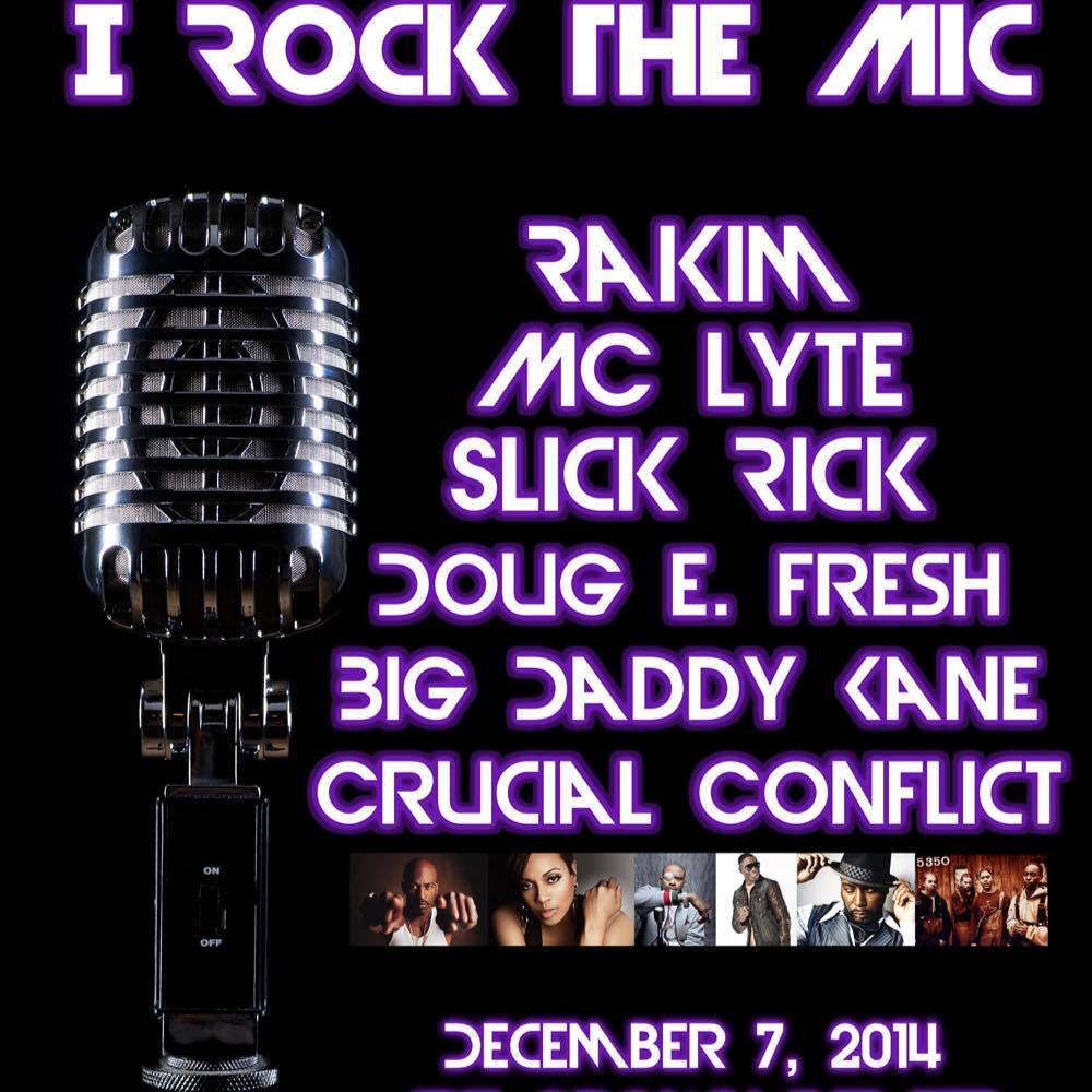 I rock the mic