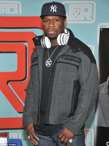 Down to his last? Rapper 50 Cent Has His Bank Account Frozen 'After Failing To Pay $17 million Judgment' To Florida Earphone Maker