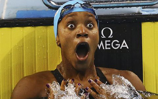 Congratulations To Jamaican Swimmer Alia Atkinson Who Became The First Black Woman To Win A World Swimming Title.