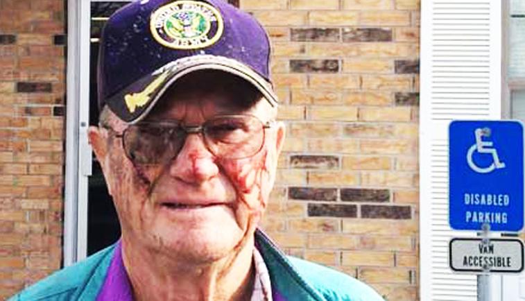 elderly man beaten by cops