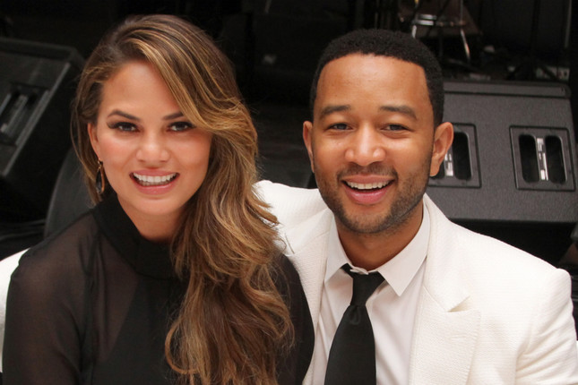 John Legend & Chrissy Teigen Provide Food Trucks for Hungry Protestors in NYC