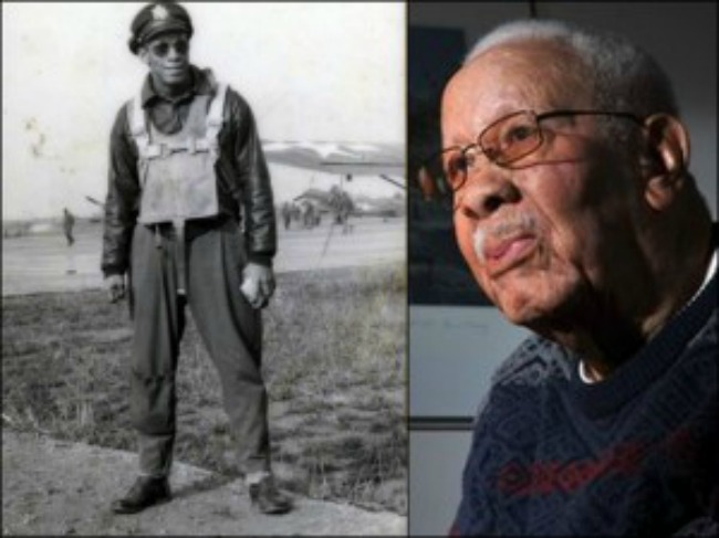Tuskegee Airman Lowell Steward Dies in California at 95