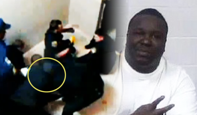 Cops Seen on Video Literally Climbing on Top of Restrained Man and Tasering Him Until He Dies